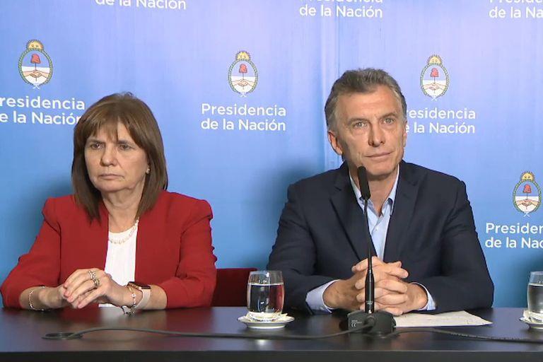 Patricia Bullrich y Mauricio Macri serán investigados por el envío de armas a Bolivia