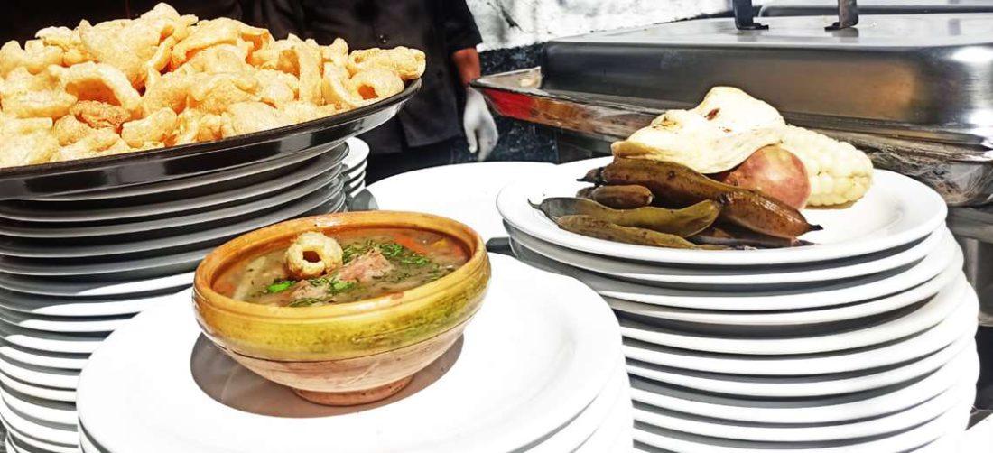 Las delicias regionales paceñas brillaron en el almuerzo organizado por la Alcaldía