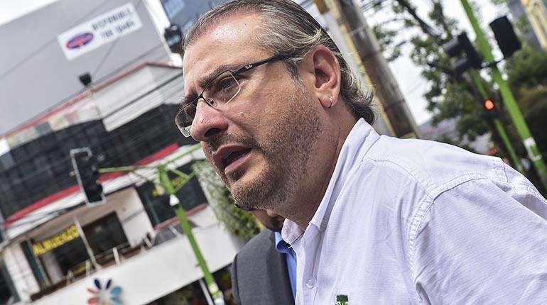 Foto archivo El Deber: Rómulo Calvo indicó que ya fue absuelto del proceso.