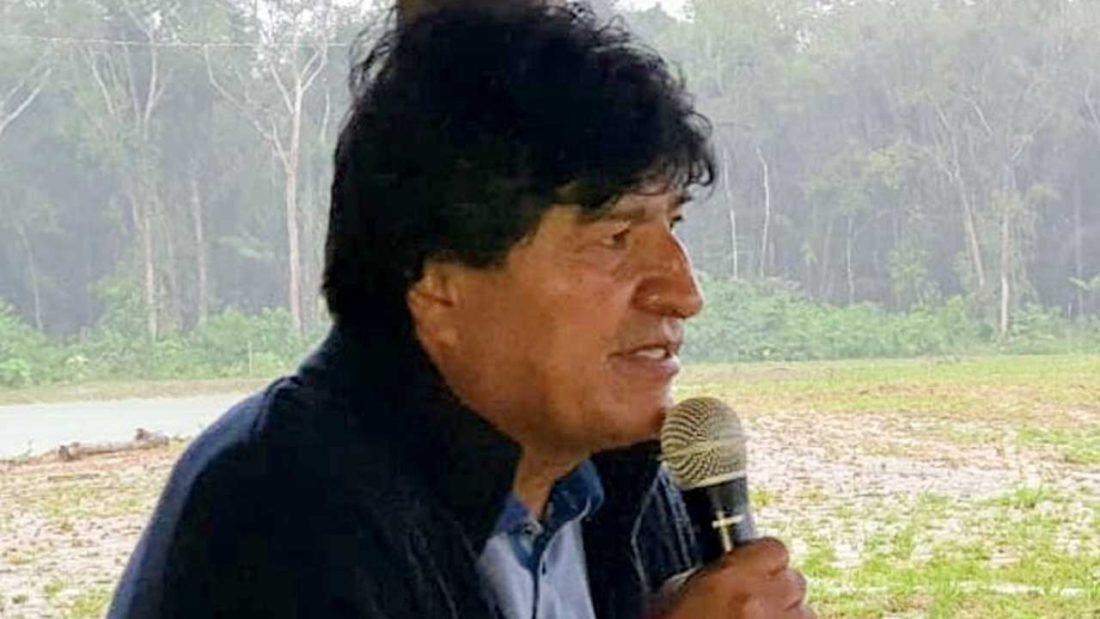 El expresidente Evo Morales. @evoespueblo