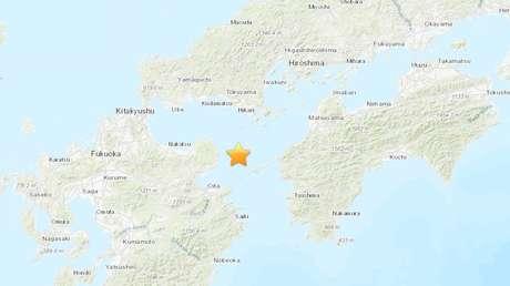 Un sismo de magnitud 5,2 sacude una isla de Japón