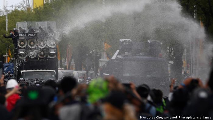 Thailand |Proteste gegen die Regierung in Bangkok