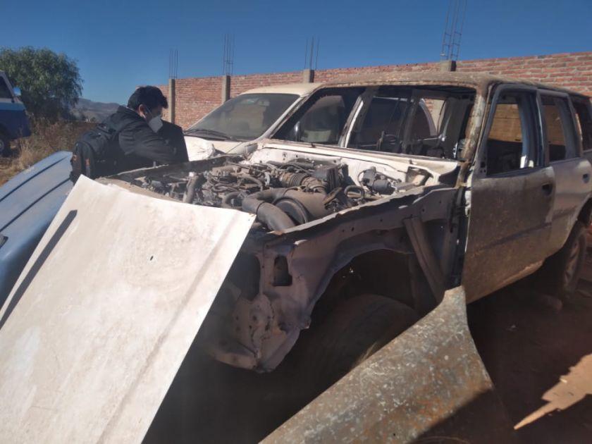 Insólito: En Camargo ocultaron una ambulancia siniestrada y alquilaron otra para presentarla como reparada