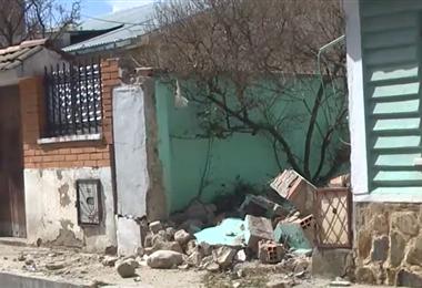 El 'megachoque' ocurrió en Ciudad Satélite de El Alto.