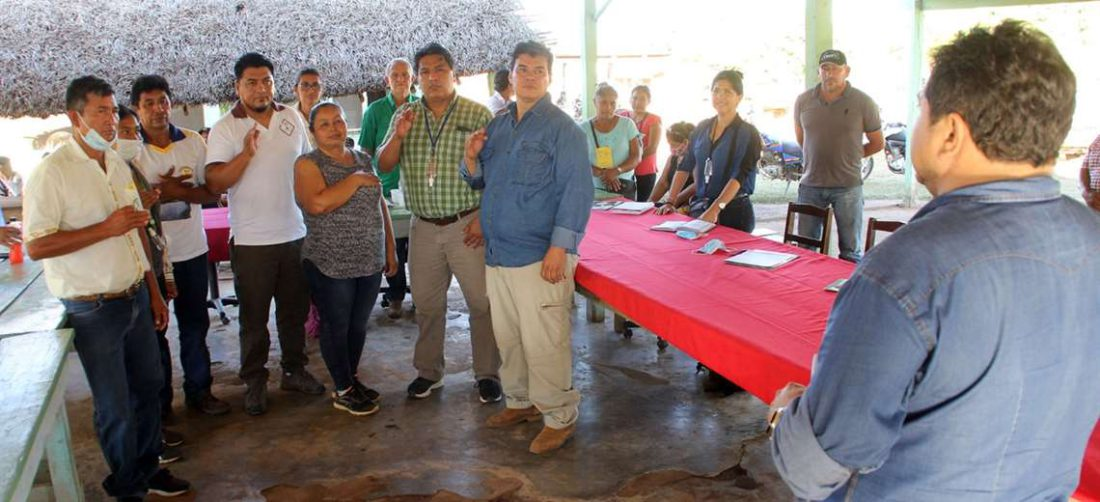El fin de semana se conformó el Comité de Gestión para defender el Bajo Paraguá.