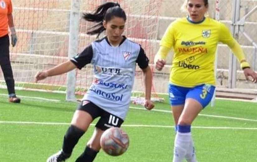 Veizaga volvió a jugar un partido oficial luego de 7 meses. Foto: Internet
