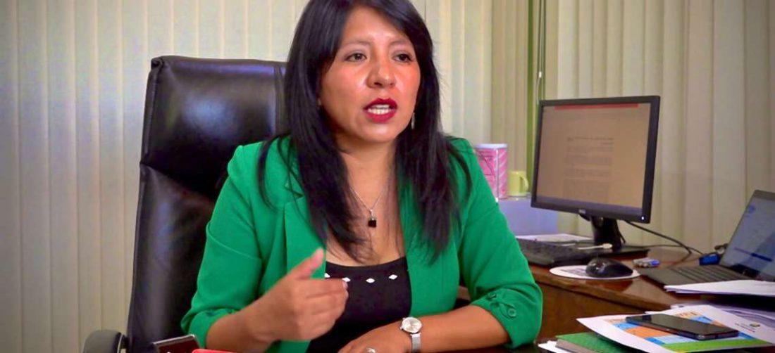 Nadia Cruz, actual Defensora del Pueblo