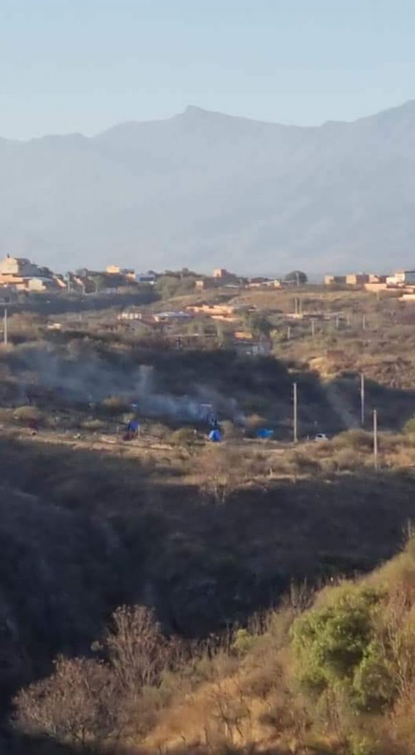 Reportan chaqueos y avasallamiento en área protegida Aranjuez de Tarija