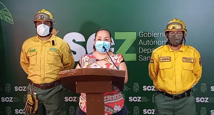 Santa Cruz registra dos incendios forestales este viernes