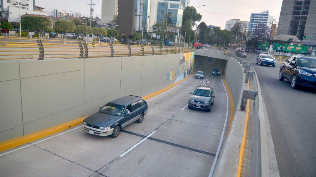 Parte del corredor vehicular Quintanilla, en el norte de la ciudad. NOÉ PORTUGAL
