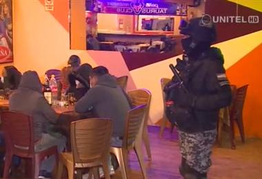 Controles policiales en locales nocturnos