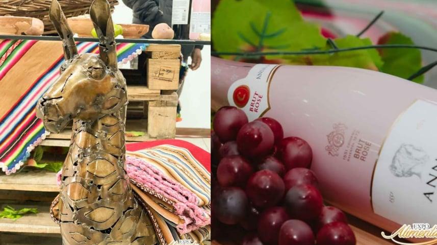 Productos bolivianos asociados con el consumo y la cultura que anticipan las ferias. Feicobol
