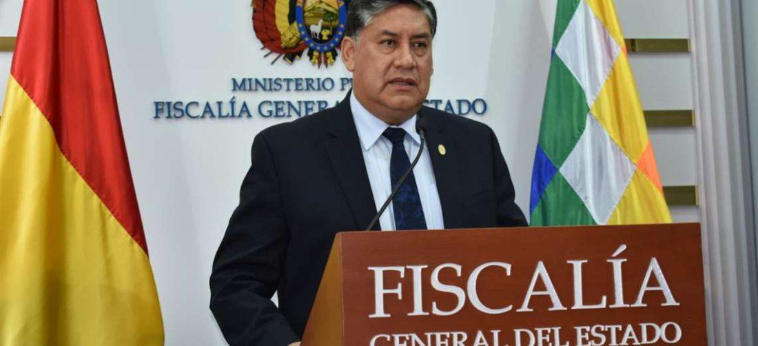 Juan Lanchipa, Fiscal General del Estado (Foto: fiscalia.gob.bo)