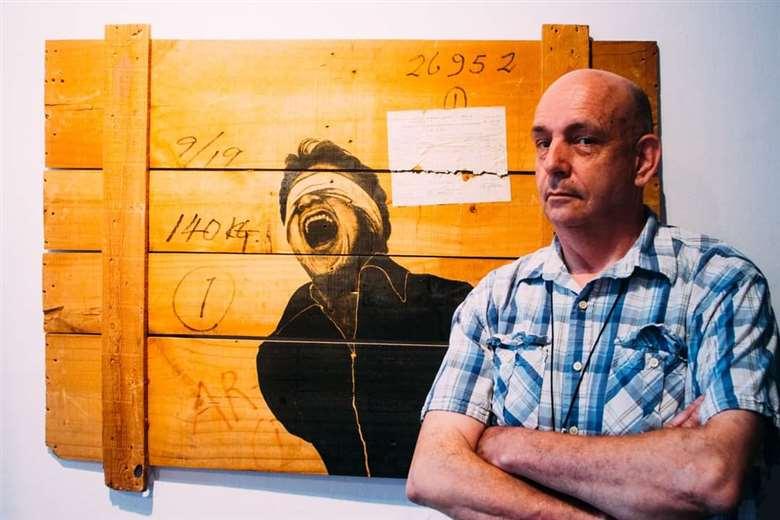 Roberto Valcárcel era uno de los artistas más reconocidos de Bolivia
