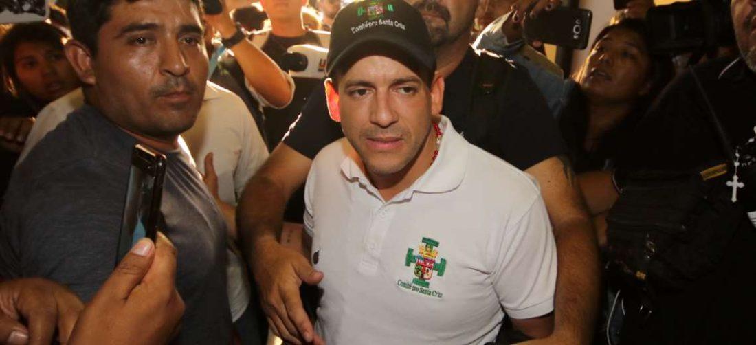 En 2019, Camacho era el presidente del Comité Pro Santa Cruz (Foto: El Deber)