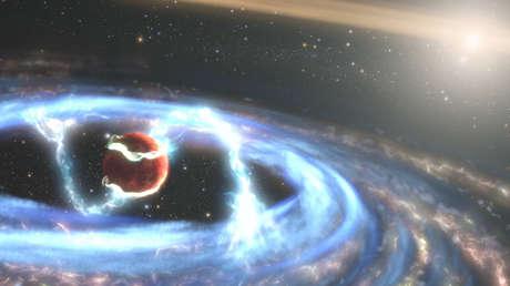 Astrónomos ven por primera vez una luna en formación fuera del sistema solar
