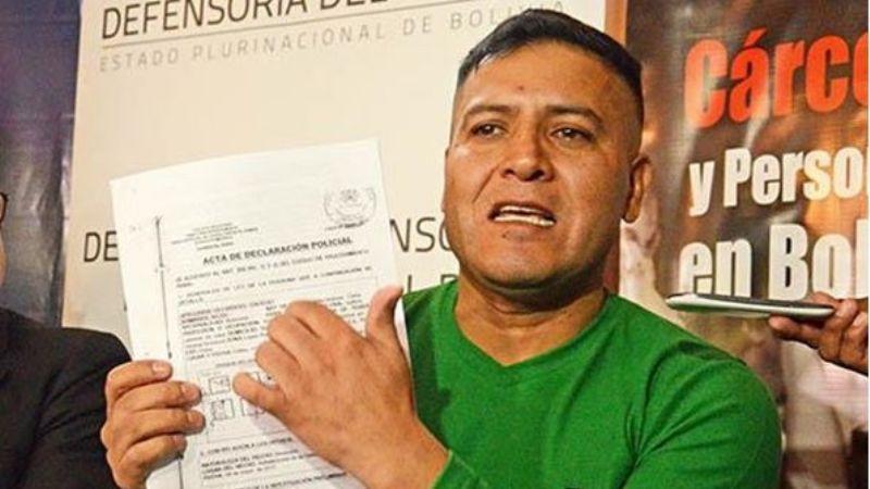 Militar acusado de mantener contacto con Evo tras su renuncia es apuñalado en la cárcel