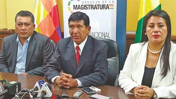 Consejeros de la Magistratura no renunciarán, anuncian que afrontarán el juicio de responsabilidades | Diario Pagina Siete