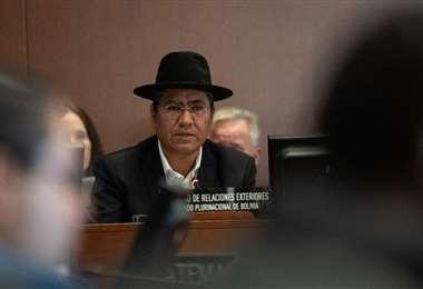 Diego Pary informó cuando era canciller que la auditoría era vinculante