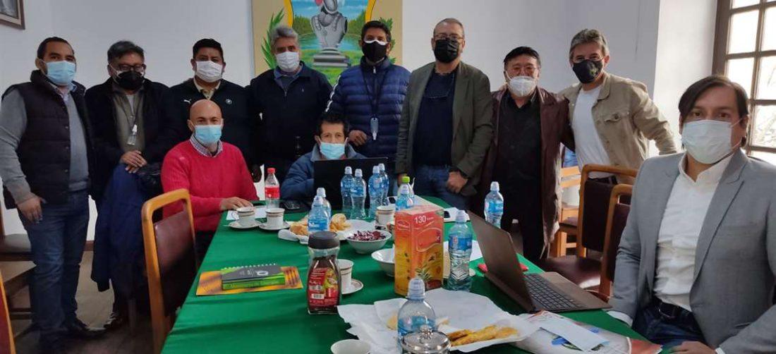 Los cívicos se reunieron en Tarija
