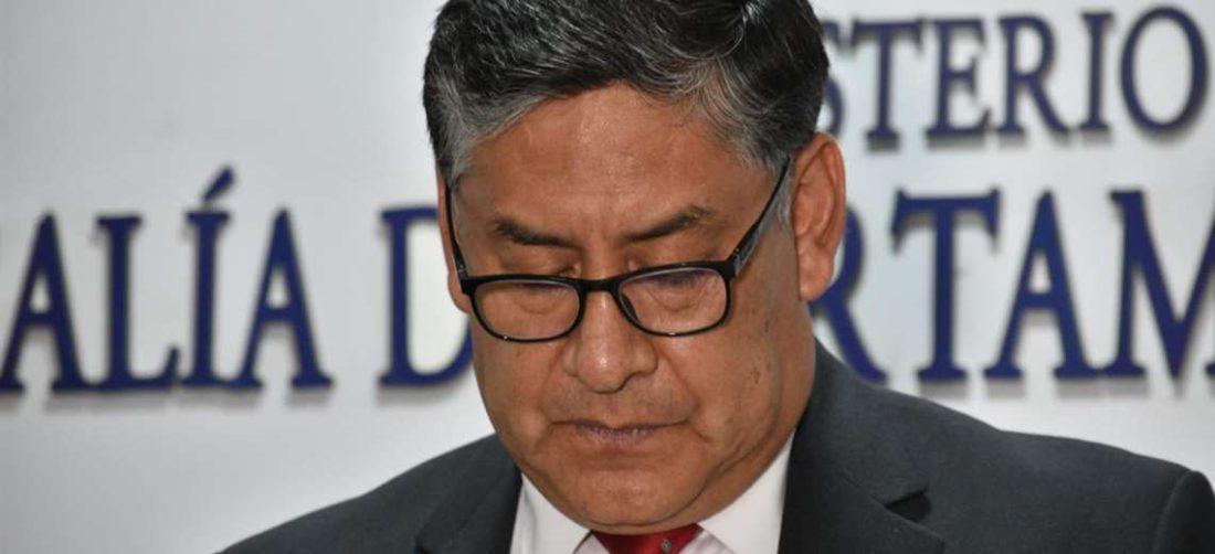 Juan Lanchipa, fiscal general del Estado I APG Noticias.