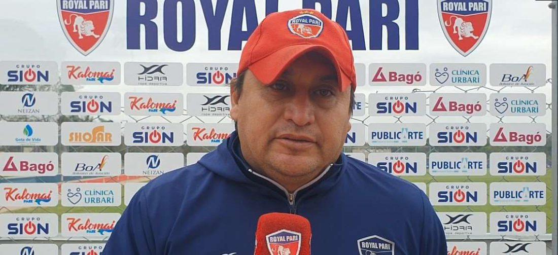 Luis Marín Camacho, director técnico de Royal Pari. Foto: Internet
