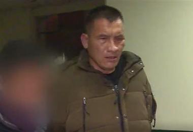 Imagen de uno de los arrestados por la Policía