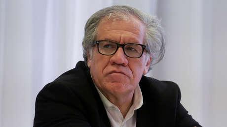 El secretario general de la OEA, Luis Almagro, da positivo a covid-19