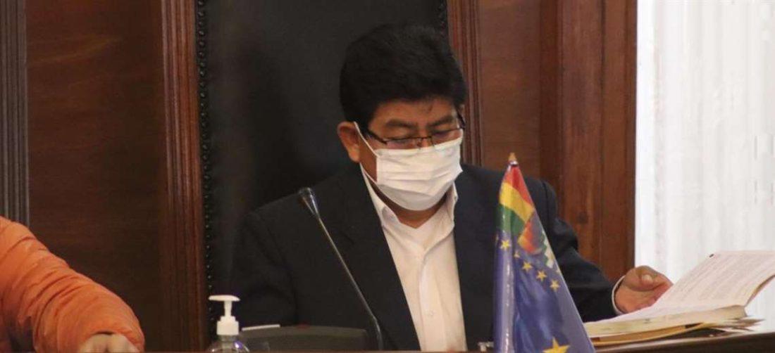 El ministro de Obras Públicas acudió al Senado a hablar de aeropuertos (Foto:oficial)