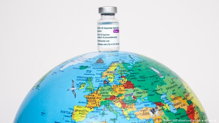Symbolbilder COVID-19-Vektor-Impfstoff