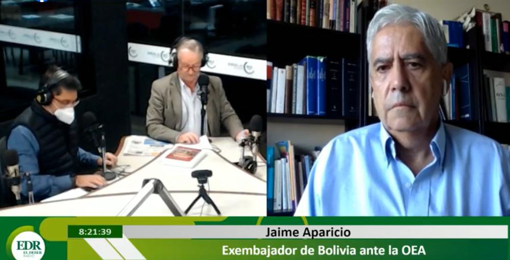 """Jaime Aparicio califica de """"relato falso"""" la determinación de la fiscalía"""