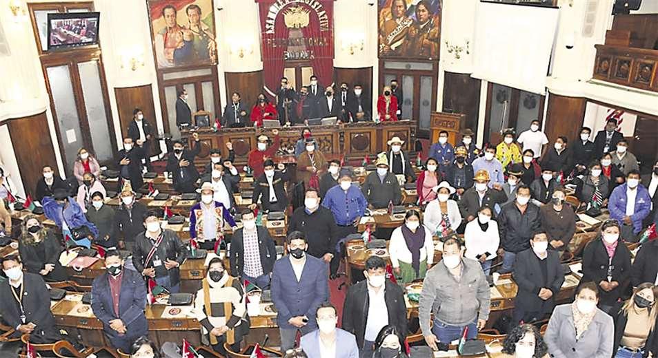 La última sesión en Diputados