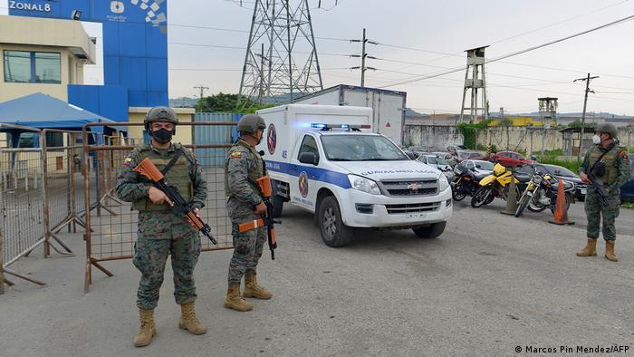 Ecuador mindesten 50 Tote bei Gefängnisrevolte