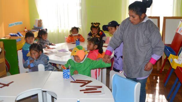 El Alto reabrirá centros infantiles en agosto