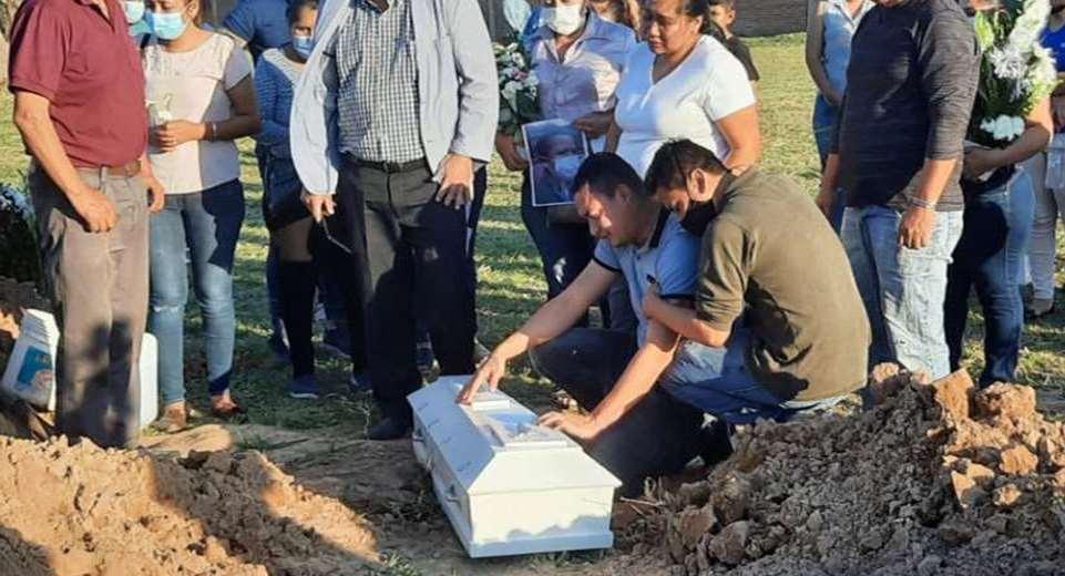 El entierro de Darlyng se realizó el pasado sábado