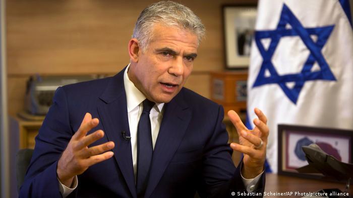 Yair Lapid, ministro de Exteriores de Israel