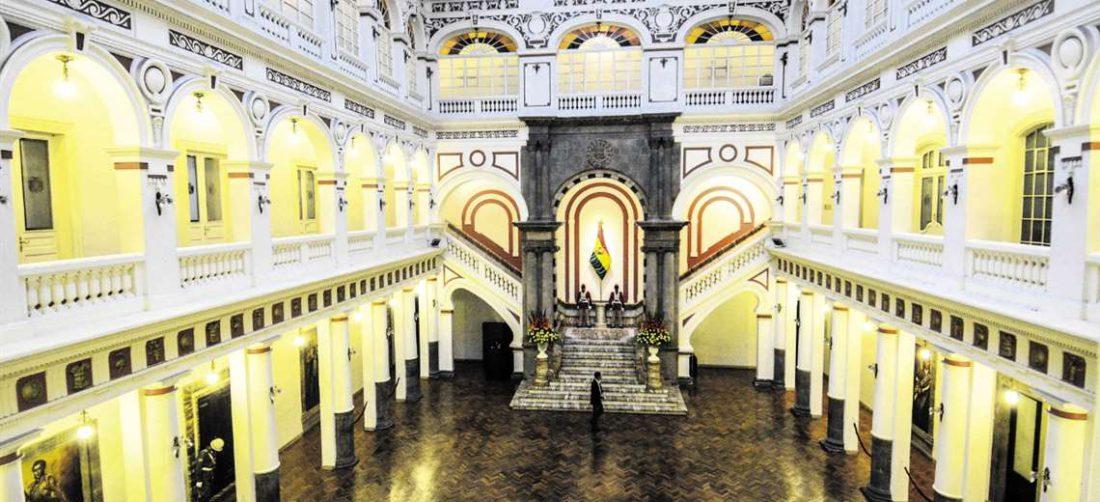 El Palacio Quemado es testigo mudo de varios capítulos de la historia del país