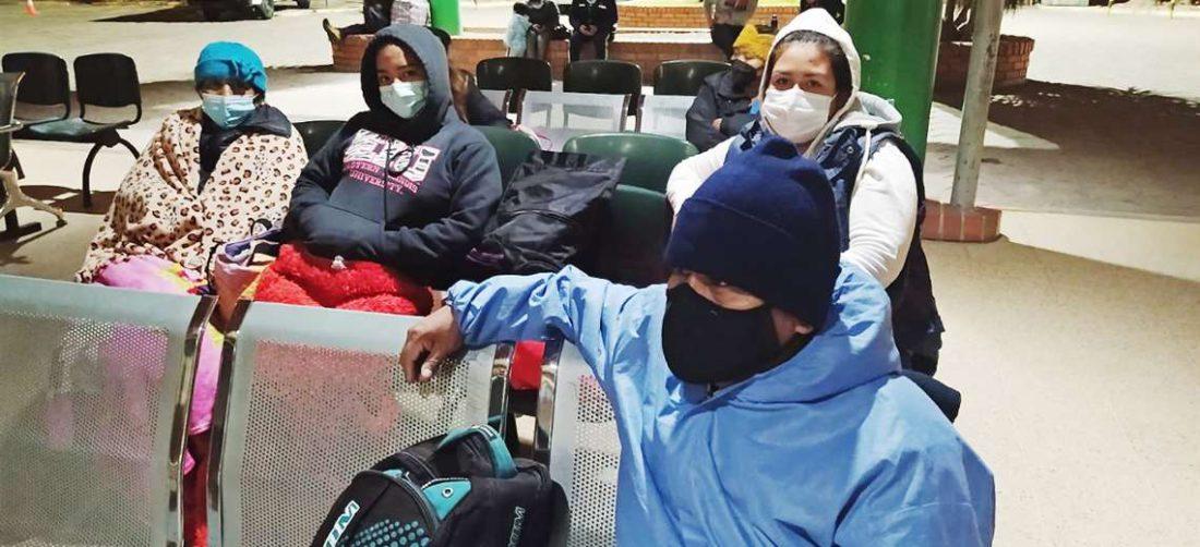Los pacientes se mantienen en vigilia en hospital Japonés desde el día anterior