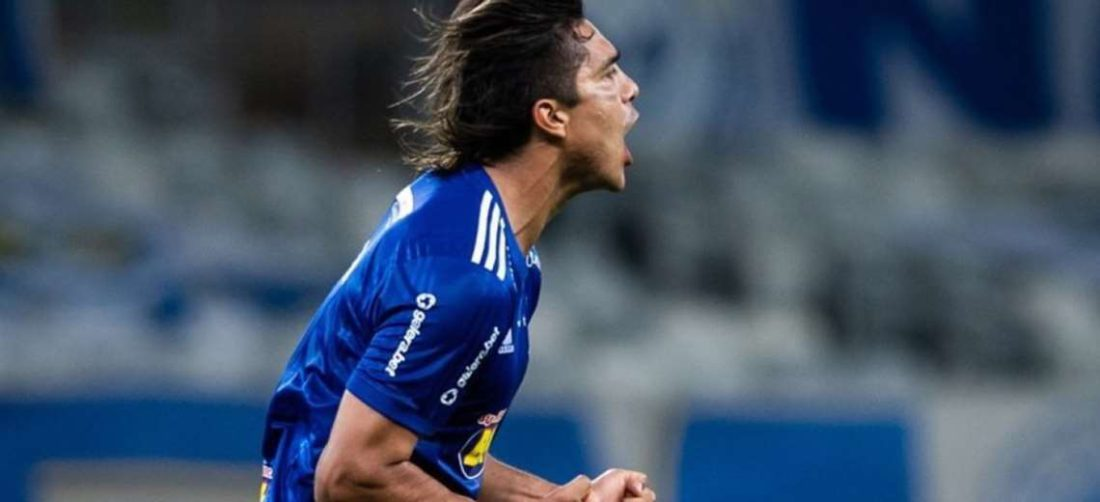 Martins marcó un gol el viernes para Cruzeiro. Foto: Internet