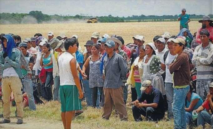 Hay una disputa por la tenencia de la tierra entres afines al MAS e indígenas