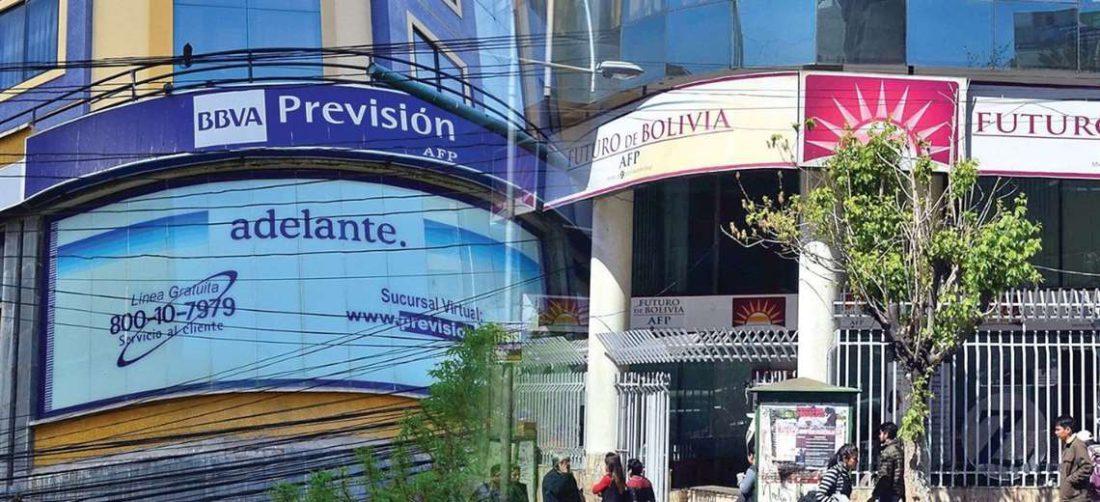 Dos AFP operan en Bolivia