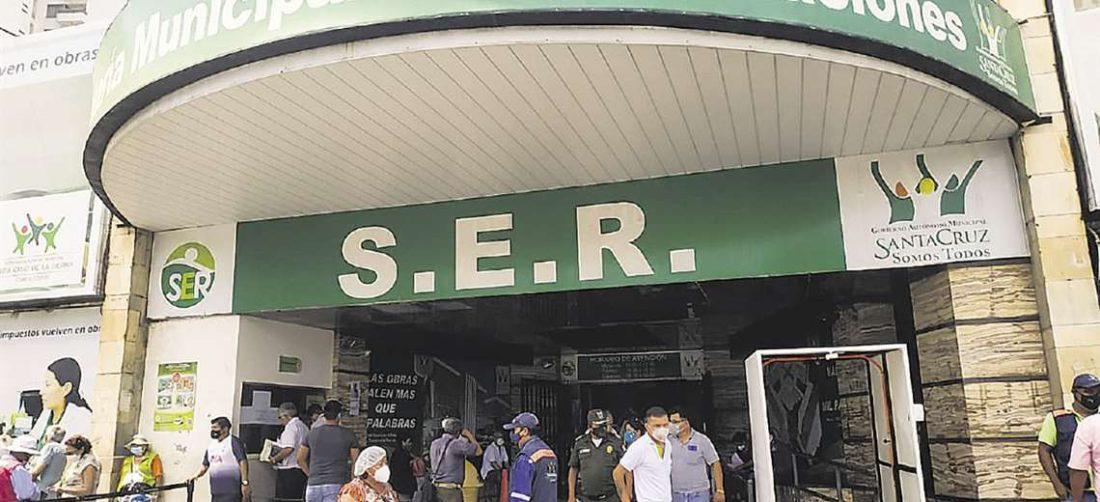 Foto archivo El Deber: Según la alcaldía este perdonazo beneficia a ría a 80 mil personas