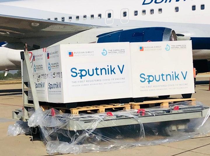 Viceministro Blanco: Segundas dosis de Sputnik V llegan en lotes pequeños y en vuelos comerciales de BoA