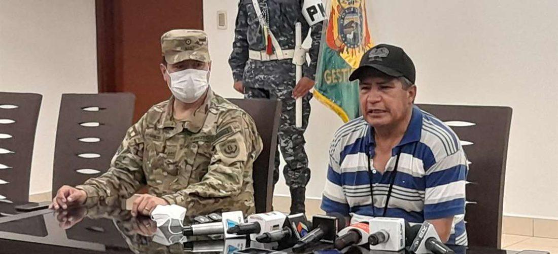 El ministro de Defensa anunció que se enviará otro Super Puma a la Chiquitania.