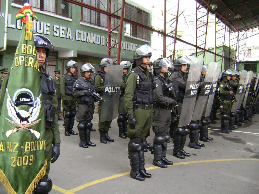 """COMANDANTE DE LA POLICÍA NACIONAL: """"SEGURIDAD CIUDADANA VUELVE A LA NORMALIDAD""""   Viceministerio de Comunicación - Bolivia"""