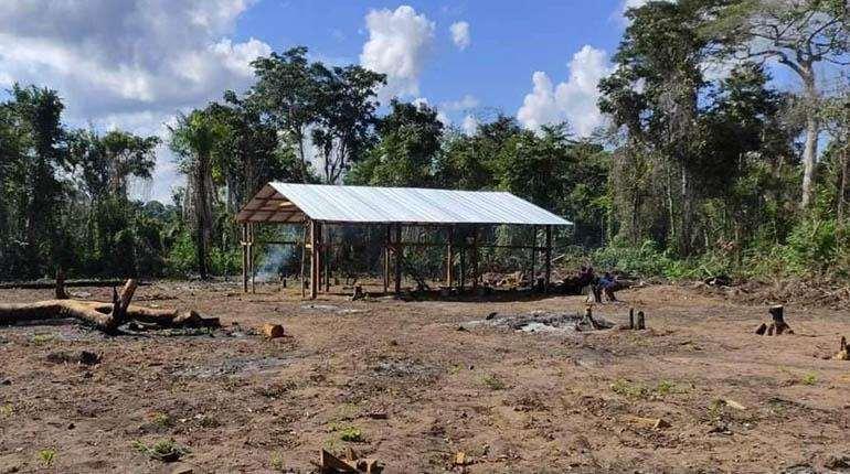 Foto archivo El Deber: los comunarios denuncian que existe sobreposición de comunidades.