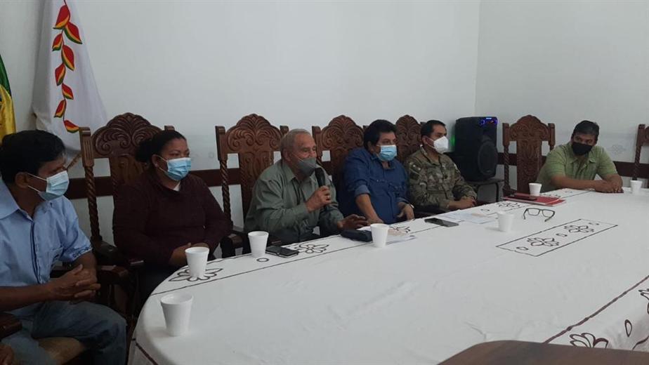 El COEM de San Ignacio pide ayuda para combatir incendios. Foto. Carlos Quinquiví