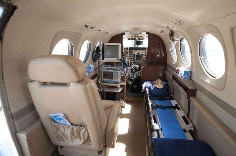 FAB transformó el avión para el uso de pasajeros. Foto: ABI