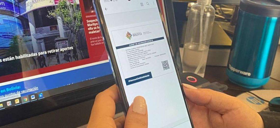 Es posible tener el certificado en el celular para tenerlo a la mano