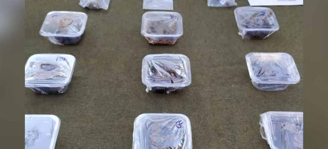 Policía detiene a distribuir de queques con marihuana. Foto Policia